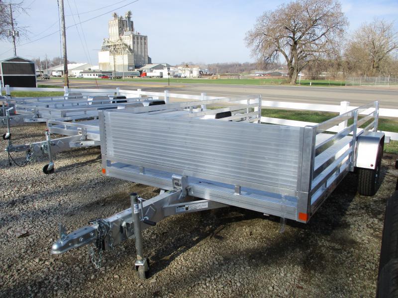 2019 Bear Track Products 76x12 Single Axle Aluminum Tilt Deck Utility Trailer in Ashburn, VA