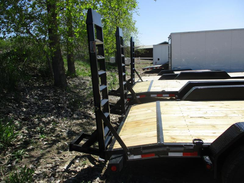 2019 Load Trail 83x18 Tandem Axle Carhauler Equipment Trailer