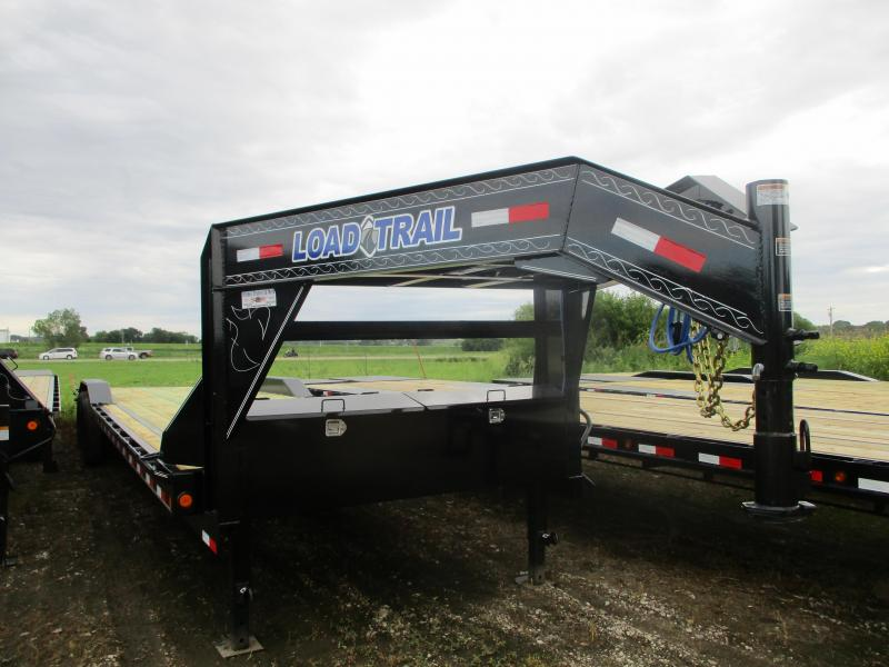 "2019 Load Trail 102""x32' Tandem Axle Gooseneck Carhauler Equipment Trailer"