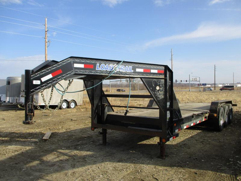 2015 Load Trail 81.5'x24' Triple Axle Gravity Tilt Deck Equipment Trailer