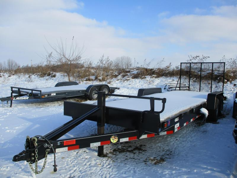 "2018 DCT 83""x24' Tandem Axle Equipment Trailer"