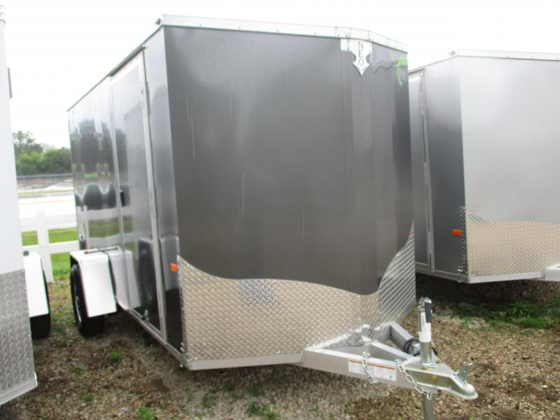 2019 NEO Trailers 6x12 Single Axle Aluminum Enclosed Cargo Trailer