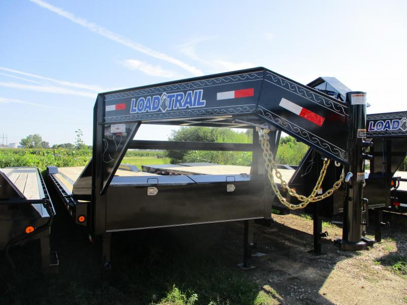 2019 Load Trail 102x40 Triple Axle Gooseneck Carhauler Equipment Trailer