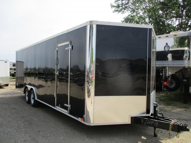 2020 United Trailers 8.5x24 Tandem Axle Enclosed Cargo Trailer