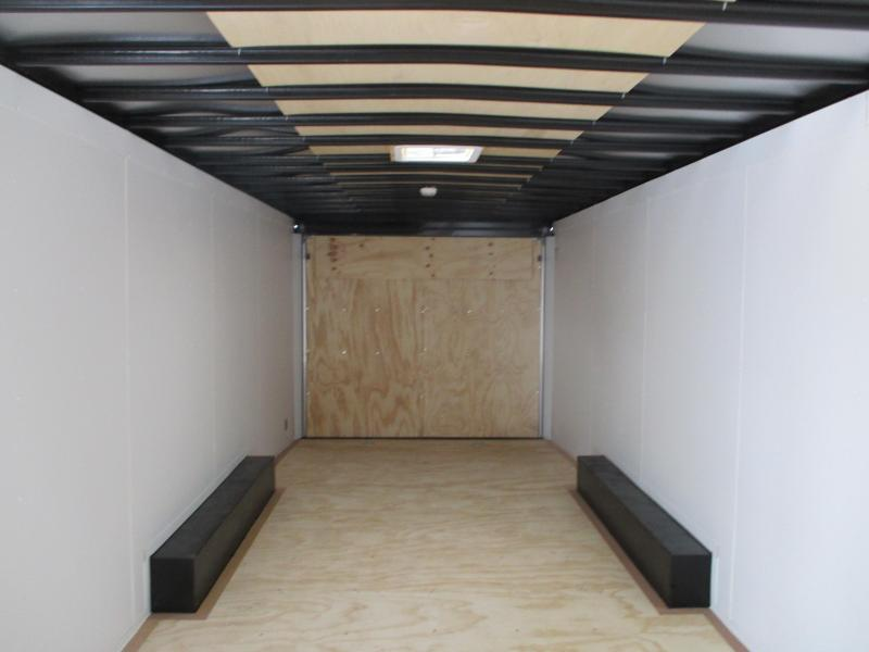 2020 United Trailers 8.5x24 Tandem Axle Enclosed Cargo Trailer