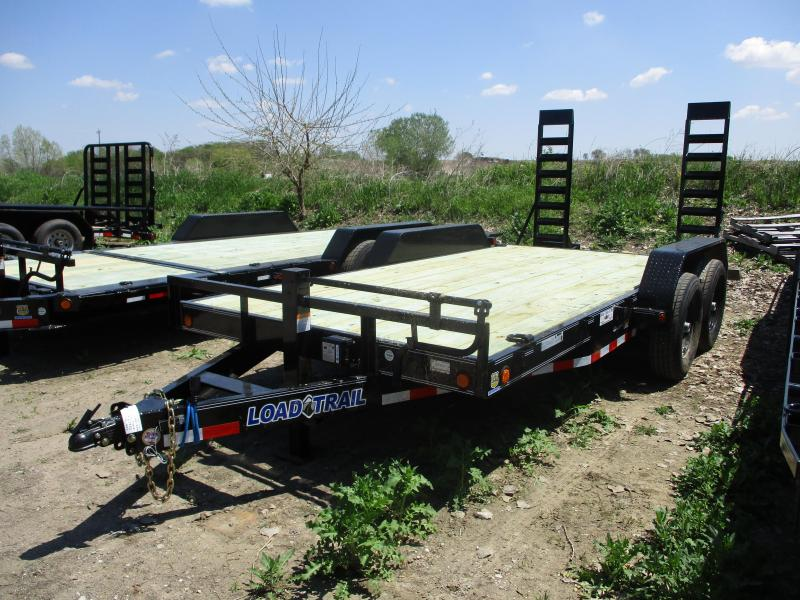 2019 Load Trail 83x16 Tandem Axle Carhauler Equipment Trailer