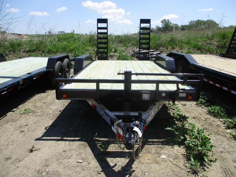 2019 Load Trail 83x16 Tandem Axle Carhauler Equipment Trailer