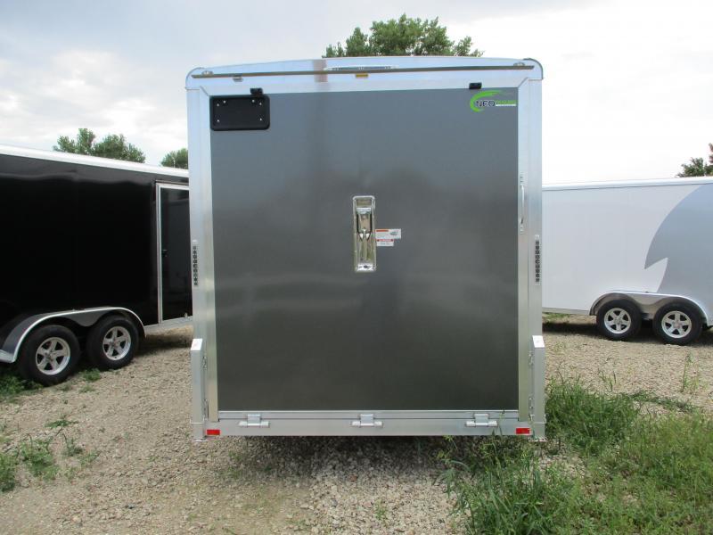 2020 NEO Trailers 7x16 Tandem Axle Aluminum Enclosed Cargo Trailer