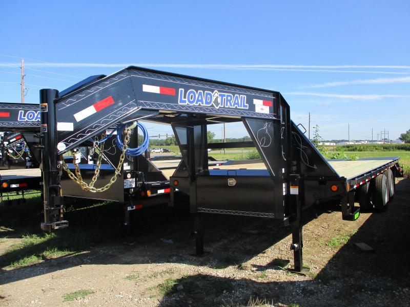 2019 Load Trail 102x25 Heavy Duty Gooseneck Flatbed Trailer