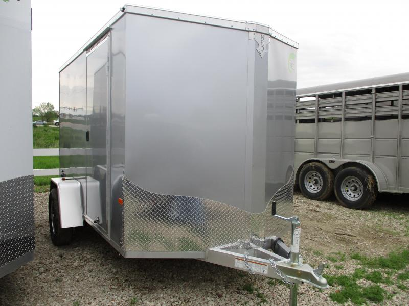 2019 NEO Trailers 6x10 Aluminum Single Axle Enclosed Cargo Trailer