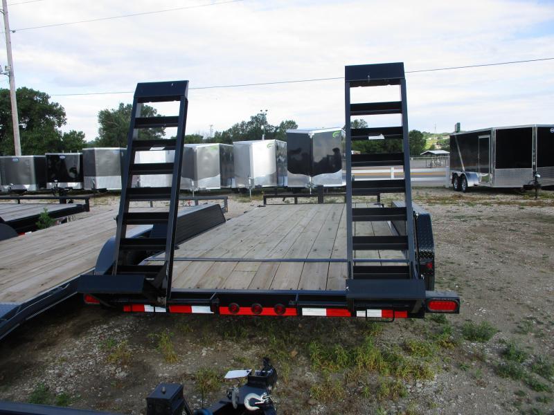 """2019 Load Trail 83""""x18' Tandem Axle Carhauler Equipment Trailer"""