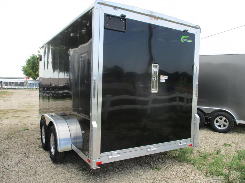 2020 NEO Trailers 7x14 Tandem Axle Aluminum Enclosed Cargo Trailer