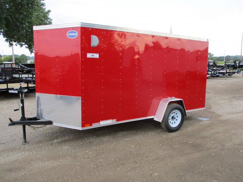 2020 United Trailers 6x12 Single Axle Enclosed Cargo Trailer