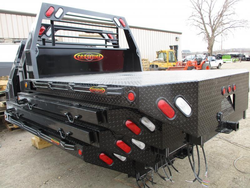 2019 IRONSTAR CROSSFIRE FLATBED Truck Bed