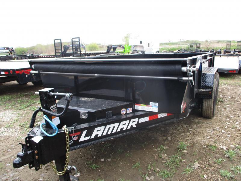 2019 Lamar Trailers 83x14 Tandem Axle Dump Trailer in Ashburn, VA
