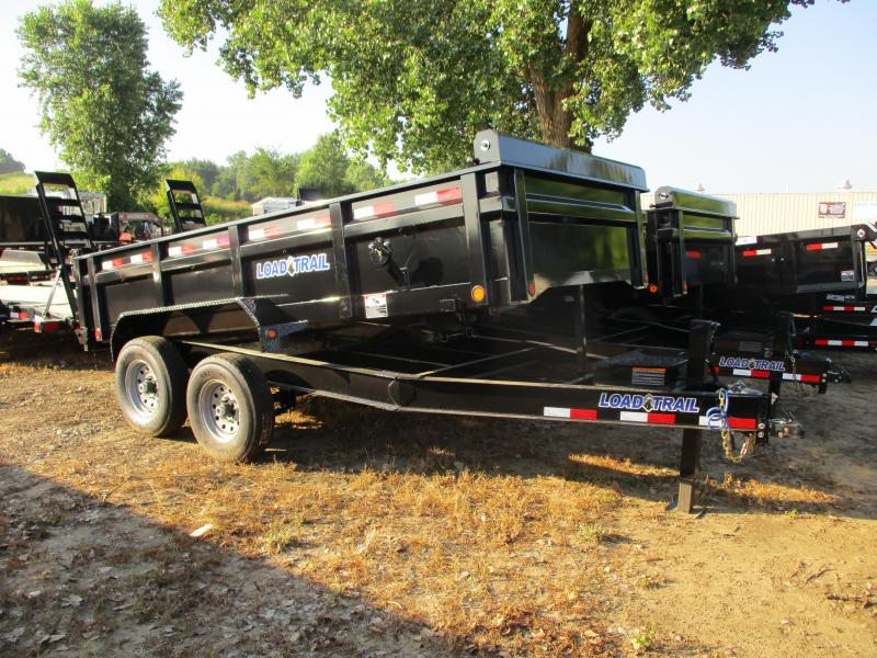 "2019 Load Trail 83"" x 14' Tandem Axle Dump Trailer"