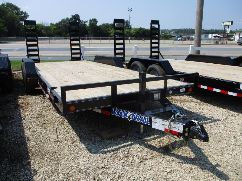"2018 Load Trail 83""x20' Tandem Axle Carhauler Equipment Trailer"