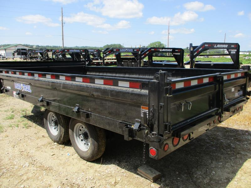 "2019 Load Trail 96"" x 16' Tandem Axle Deck Over Dump Trailer"