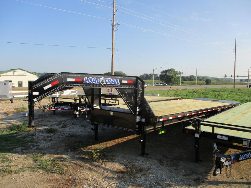 "2019 Load Trail 102"" x 30' Heavy Duty Gooseneck Equipment Trailer"