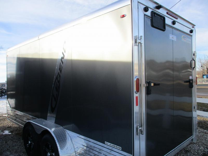2019 Legend 7'x19' Tandem Axle Aluminum Enclosed Cargo Trailer