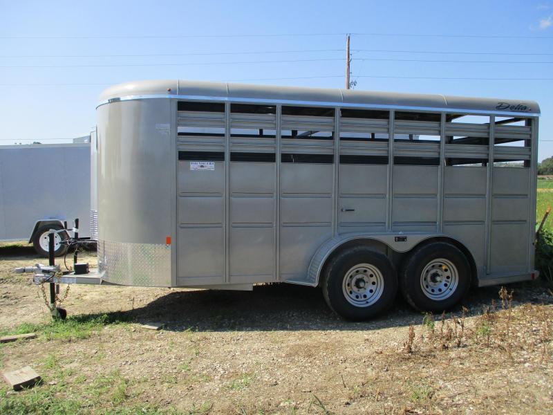 2019 Delta Manufacturing 6'x16' Tandem Axle Livestock Trailer in Ashburn, VA
