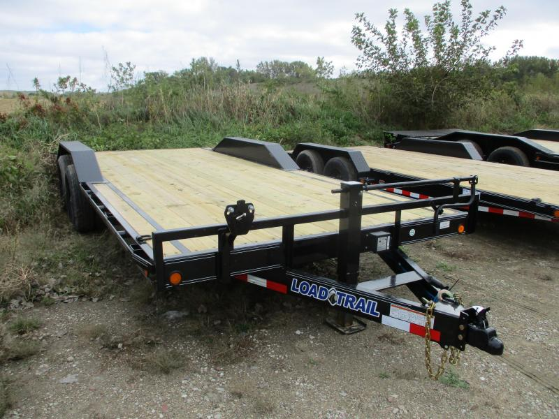 "2019 Load Trail 102"" X 20' Tandem Axle Carhauler Car / Racing Trailer"