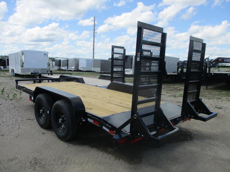 2019 Lamar Trailers 83x16 Tandem Axle Equipment Trailer