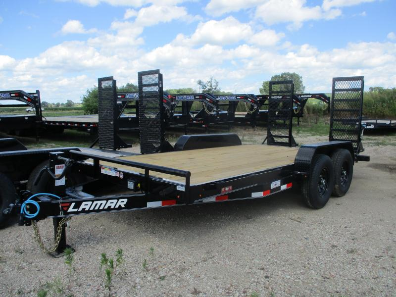 2019 Lamar Trailers 83x16 Tandem Axle Equipment Trailer