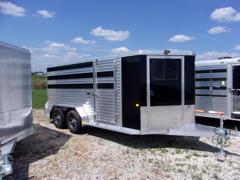 2017 Frontier 4 Pen Low Pro Livestock Trailer