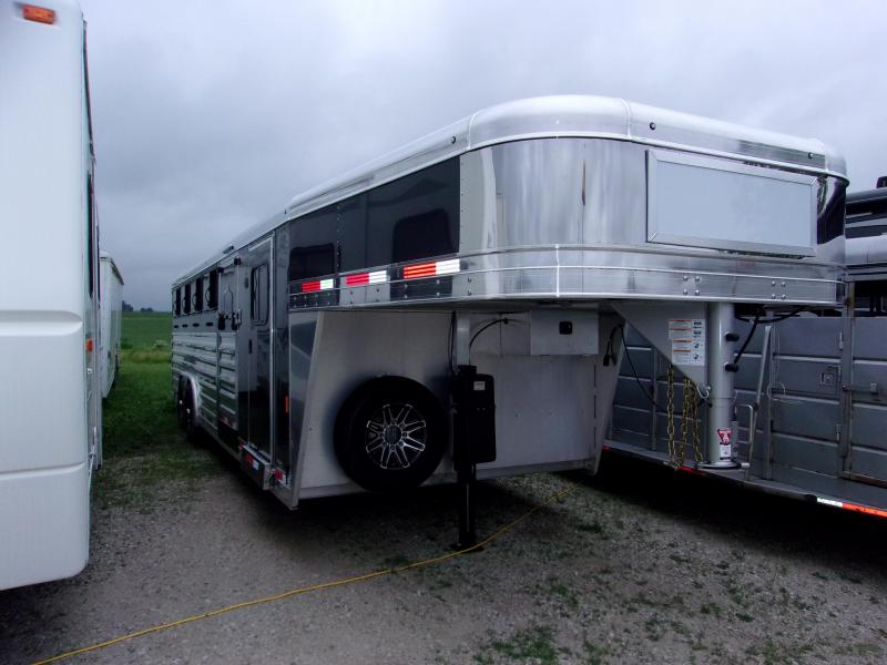 2018 Exiss Trailers EXHIBITOR 8026 10 PEN 6ft Tack