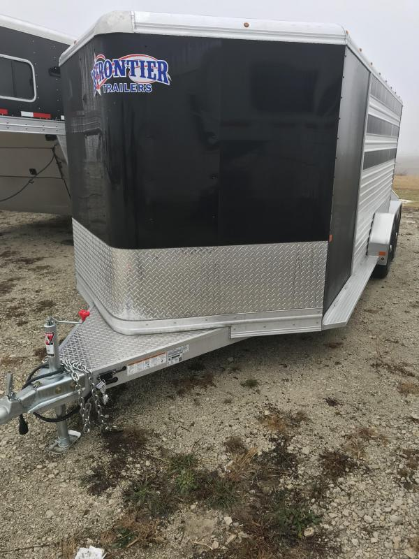 2018 Frontier stock low pro 7x16 Livestock Trailer