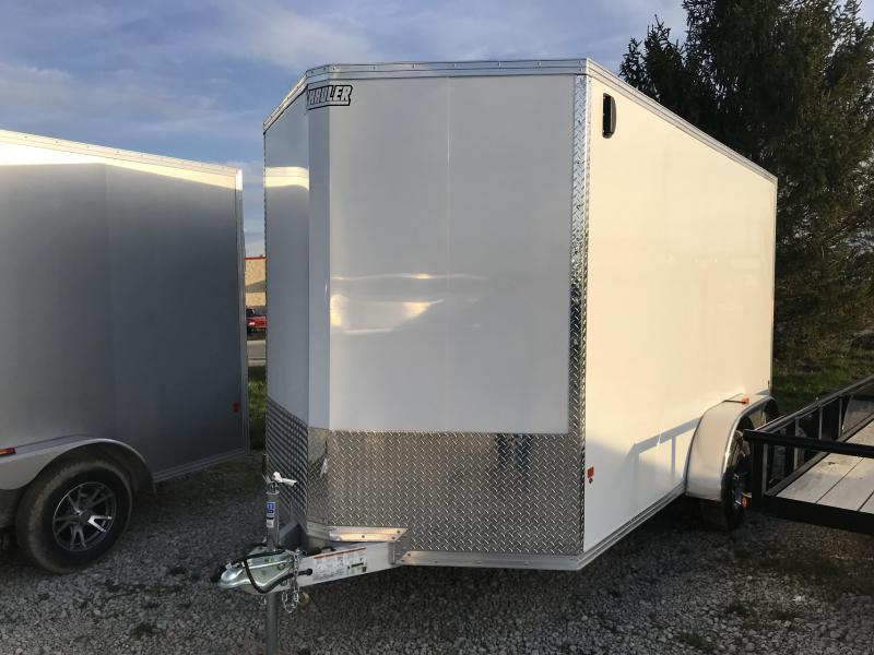 Price Reduced! 2018 EZ HAULER7X14 Enclosed Cargo Trailer