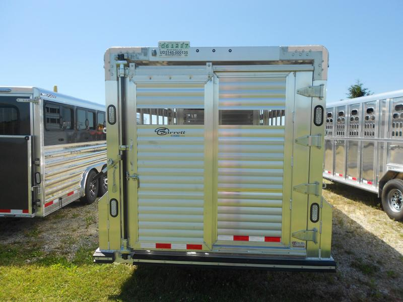 2018 Barrett Trailers SMOOTH SLASIDE GN TAPERED NOSE Livestock Trailer