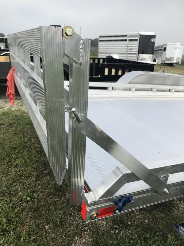 2019 Mission 6.5x16 FA Tandem Axle 2.0 Equipment Trailer