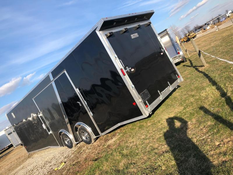 2018 E-Z Hauler 8x28 CH Car / Racing Trailer