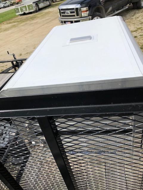 2018 Frontier Livestock/Dog Box Utility Trailer Combo