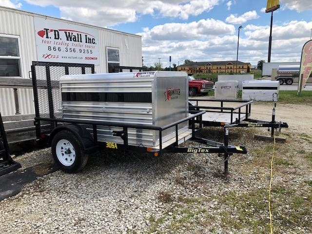 2018 Frontier Livestock/Dog Box Utility Trailer Combo in Ashburn, VA