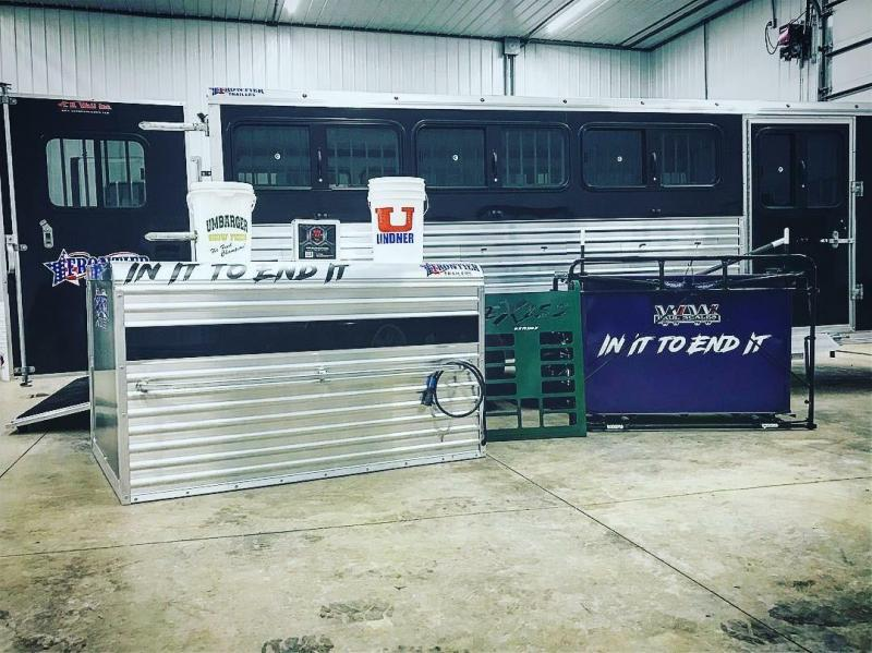 2018 Frontier 4X6 POPPER Truck Boxes (Livestock and Dog)