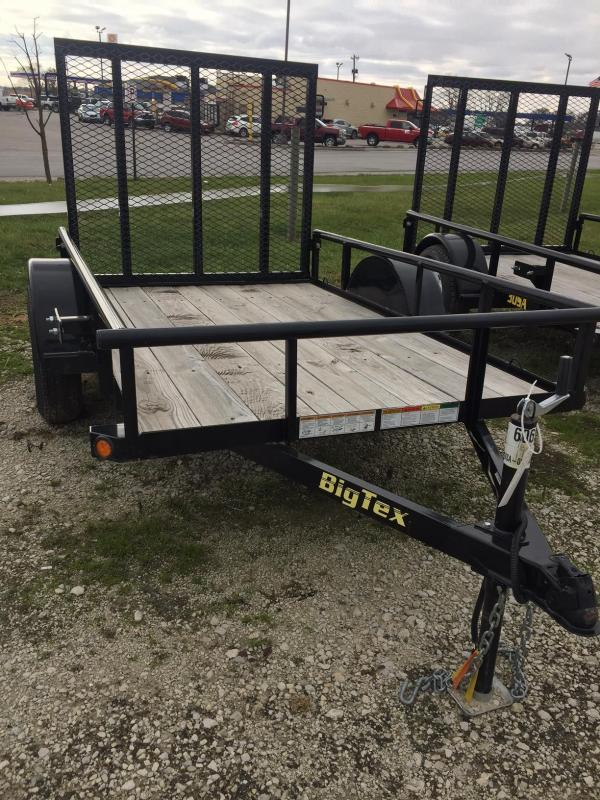 2017 Big Tex Trailers 30SA-08BK4RG Equipment Trailer