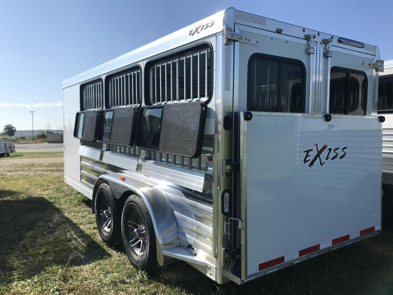 2019 Exiss 716W 6 Pen Trailer