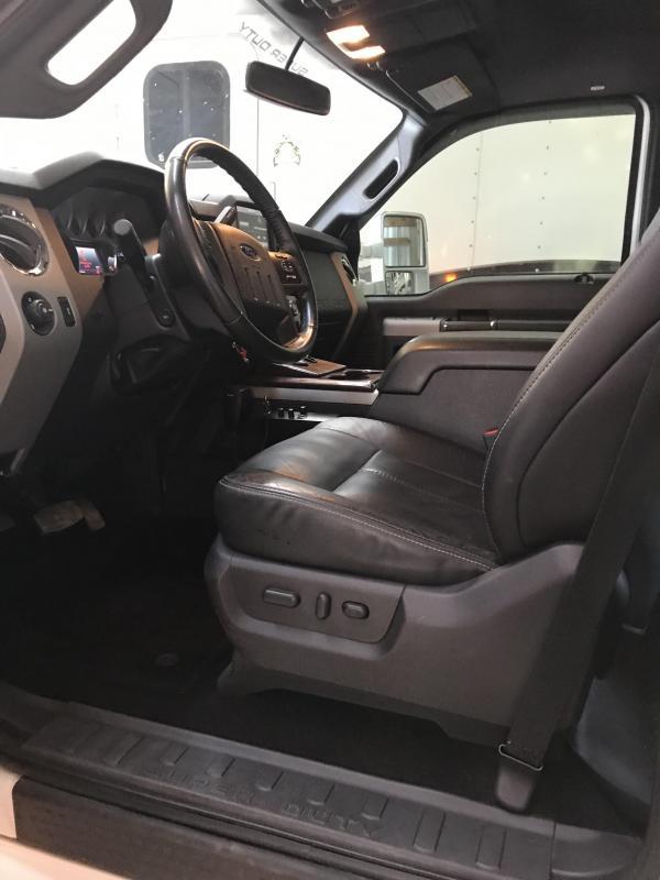 2013 Ford F550 6.7 Power Stroke Diesel Crew Cab Western Hauler