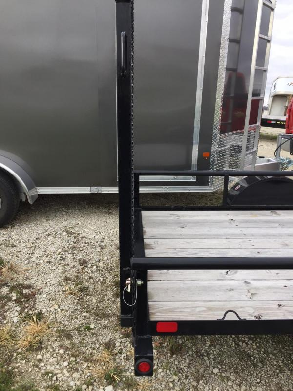 2017 Big Tex Trailers 30SA-10BK4RG Equipment Trailer