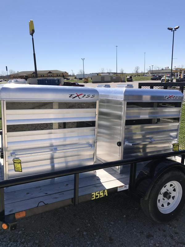 2017 Exiss Trailers Popper Truck Boxes (Livestock and Dog)