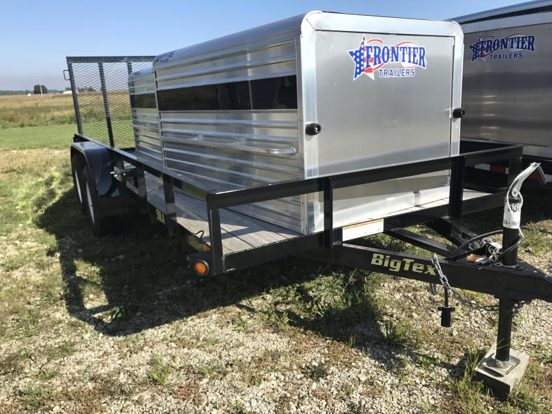 "2016 Big Tex Trailer 77""x16' Equipment Trailer"