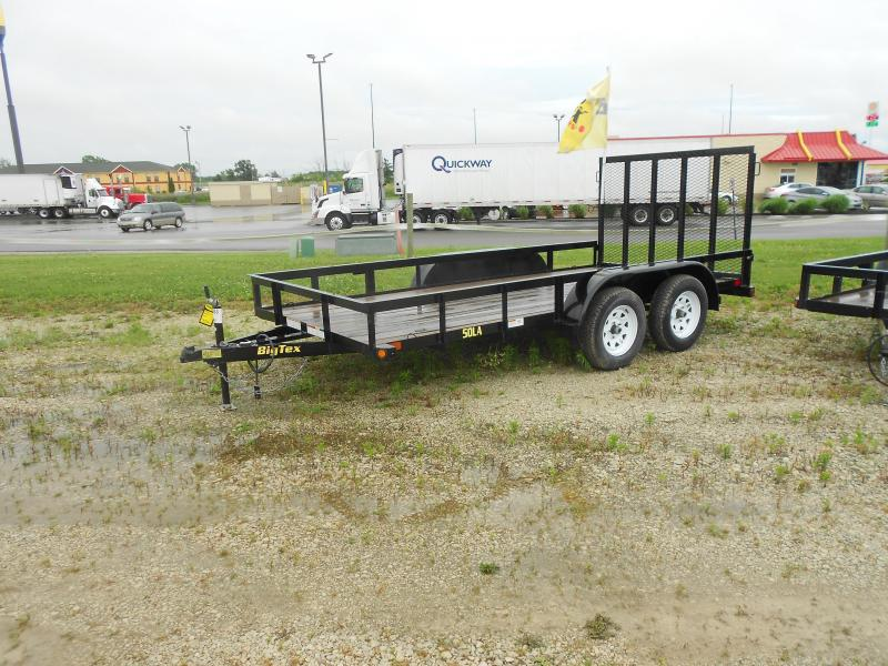 2016 Big Tex Trailers 5000 TA UT (6 1/2X14) Flatbed Trailer