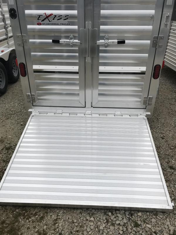 2018 Exiss Trailers 611BP Livestock Trailer