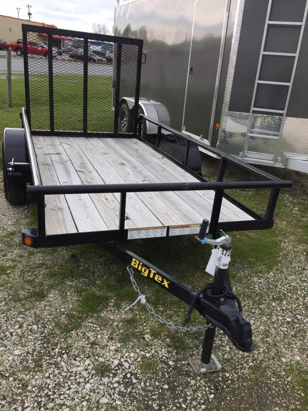 2017 Big Tex 5x10 Equipment Trailer