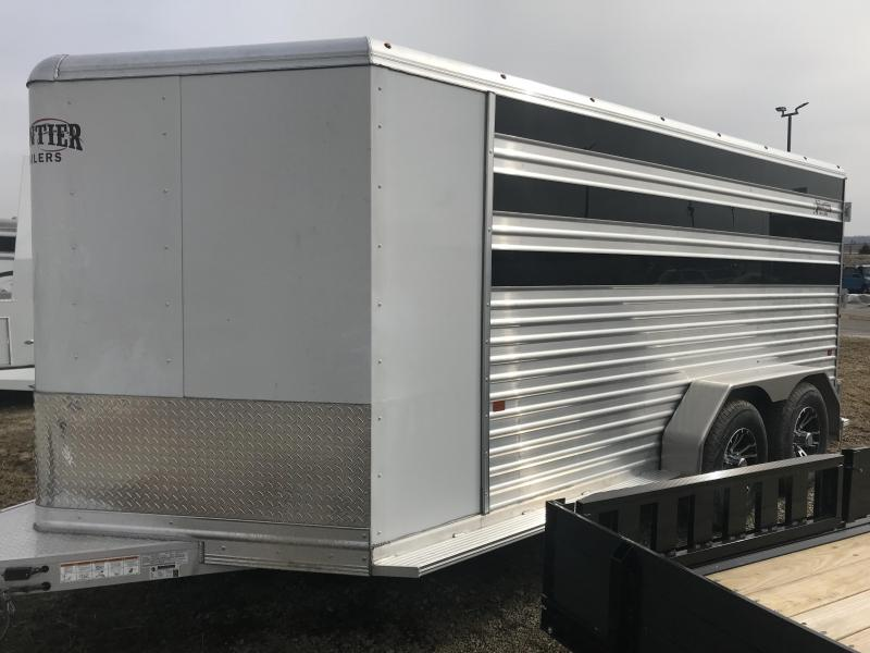 2019 Frontier 7 x14 Low Pro 6 pen Trailer