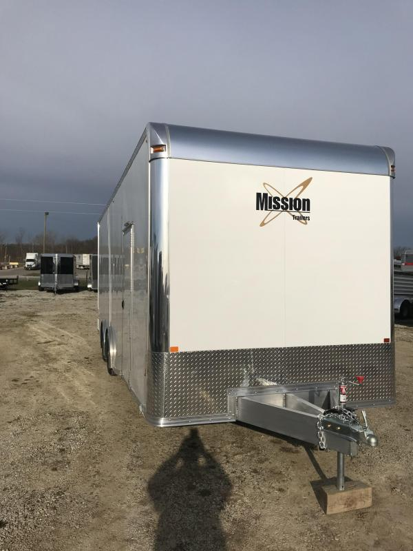2018 Alcom-Stealth 8.5X24 Enclosed Cargo Trailer
