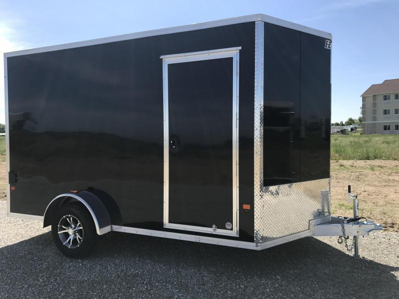Price Reduced! 2018 EZ Hauler 7X12 Enclosed Trailer